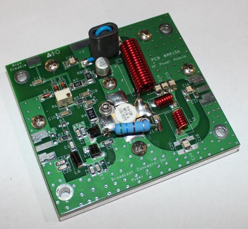 MRF136 28V 15 watt module