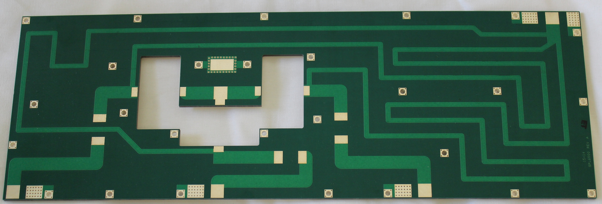 6000w Teflon Combiner Pcb Low Pass Filter For Fm 88 108 Mhz Only