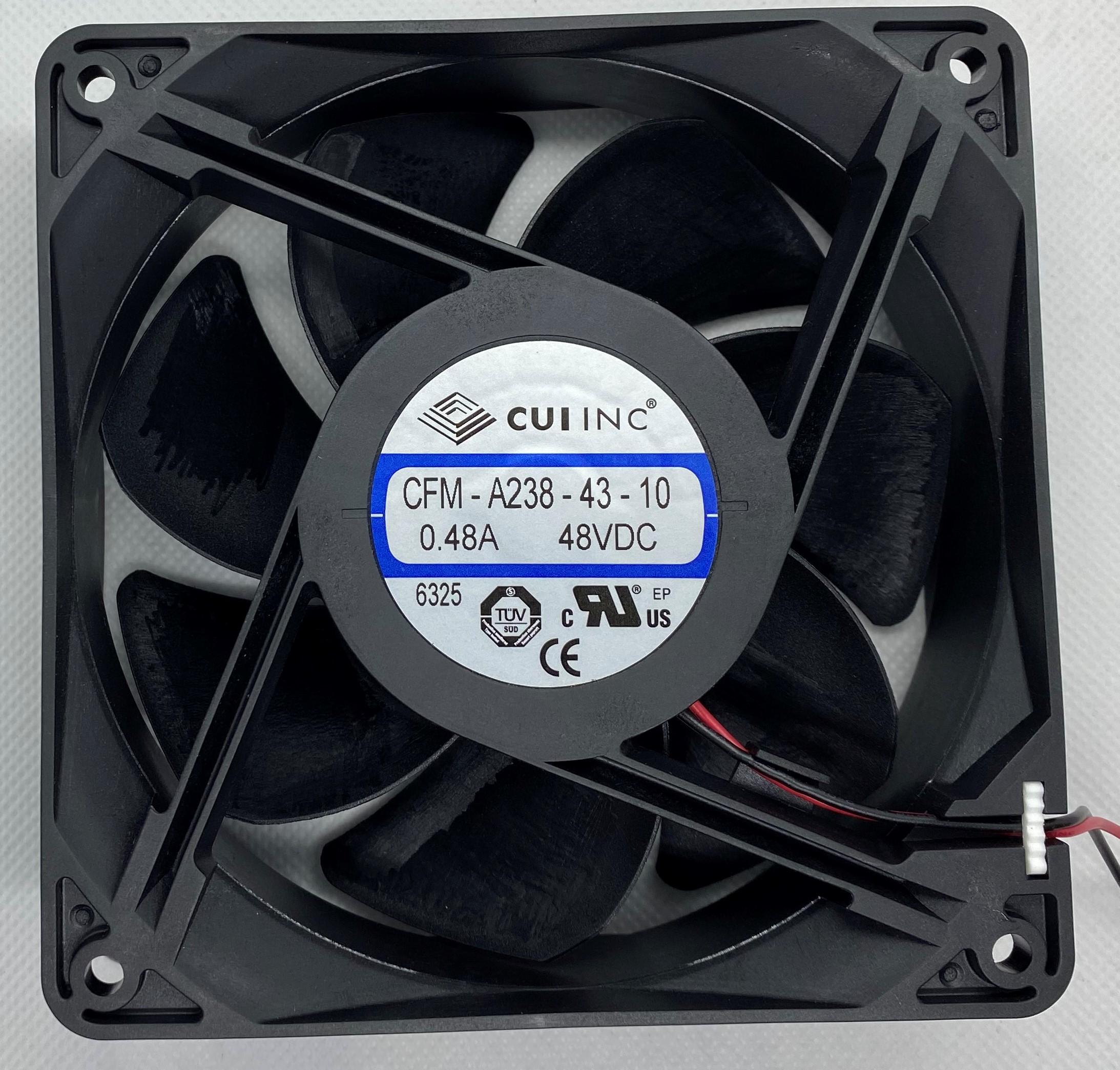 CUI Devices 48VDC FAN 201CFM
