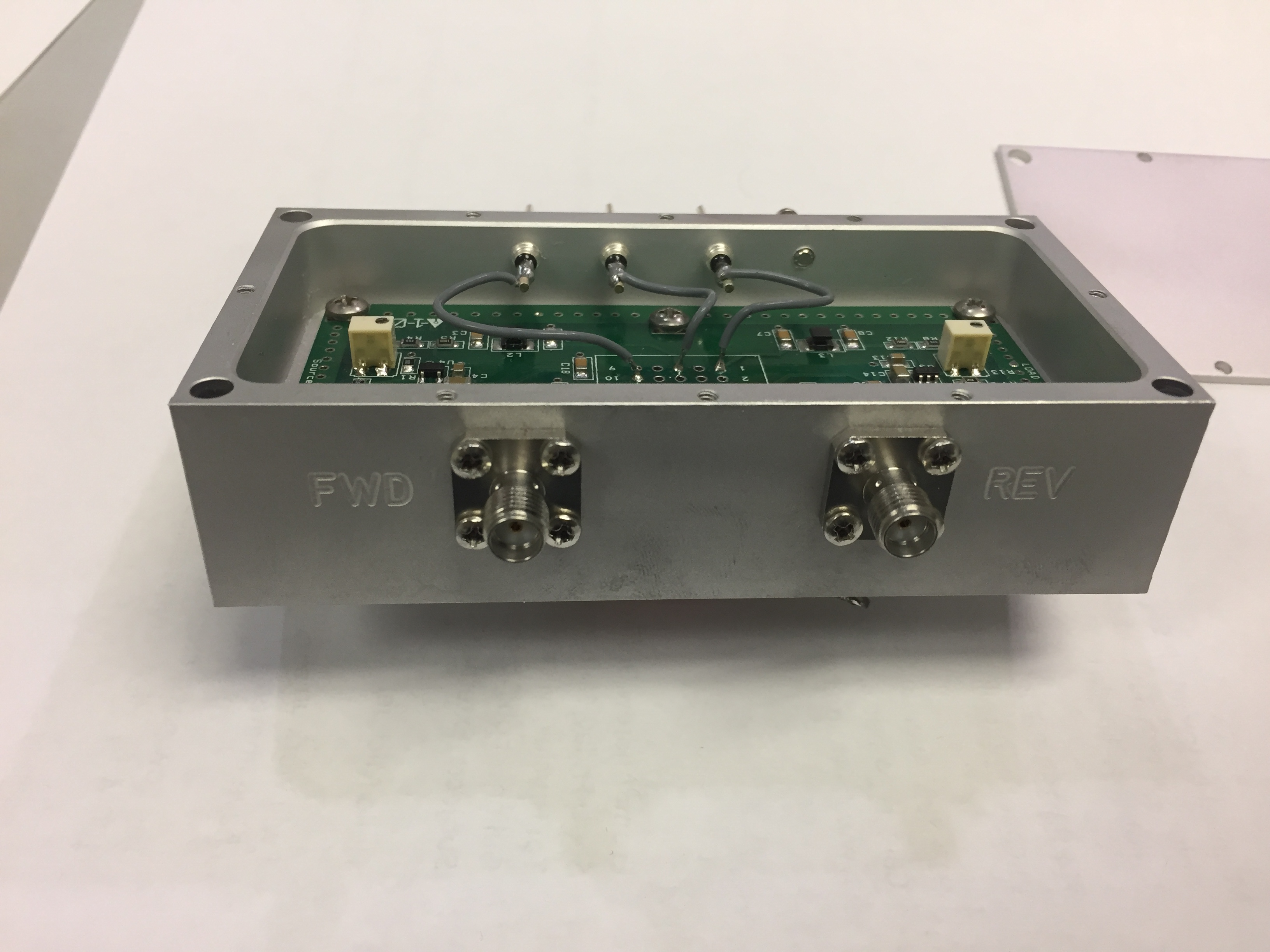 AD8361 RF detector in Milled housing.