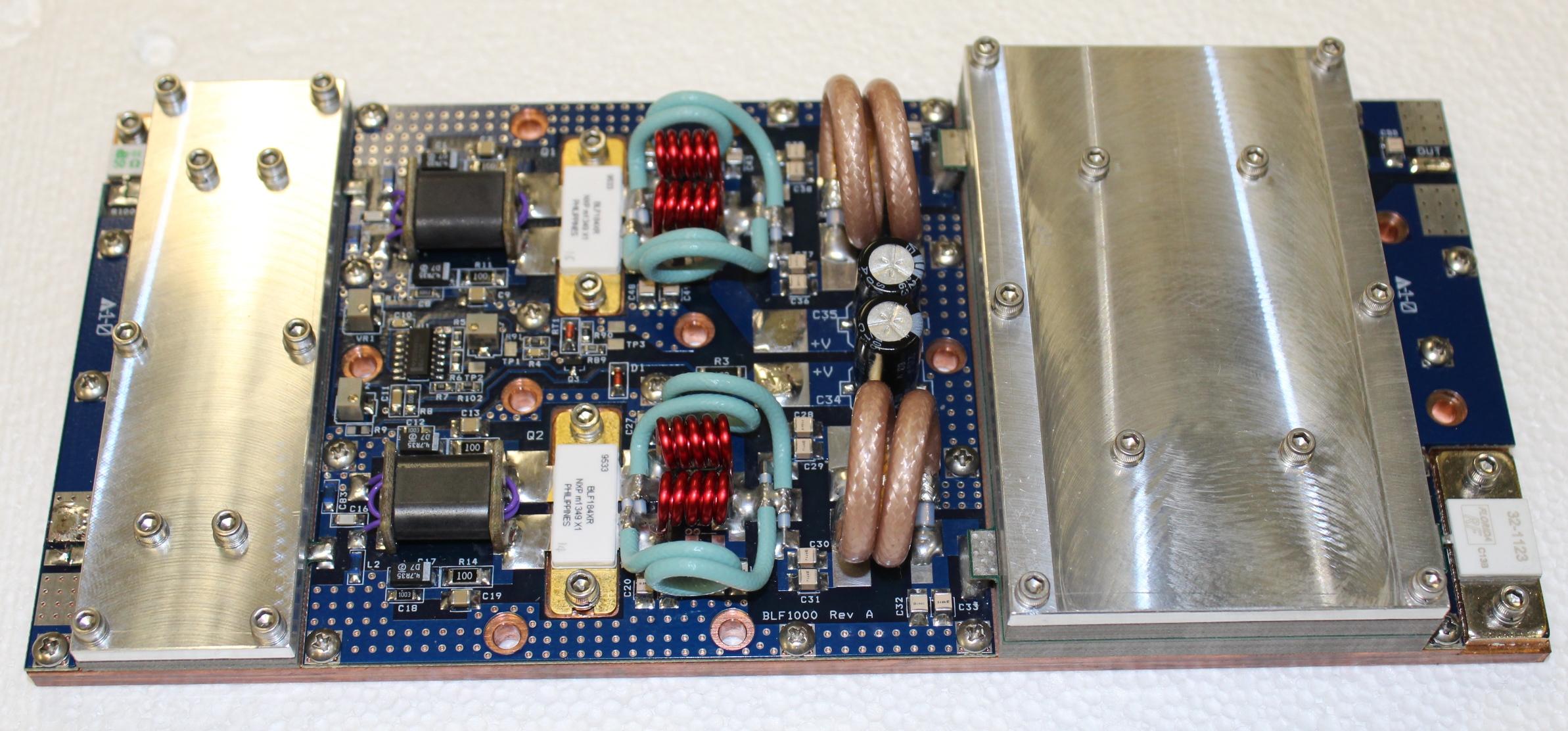 BLF184XR 1200W FM Pallet Amplfier