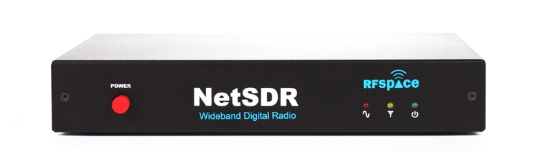NetSDR-01 with rack mount kit